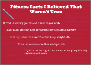 Fitness Facts That Aren't True