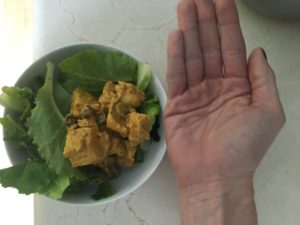 Protein Portion Should Fit In The Palm Of Your Hand